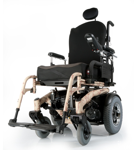 Sunrise Motors Inc: Quickie® S-6 Series Electric Wheelchairs